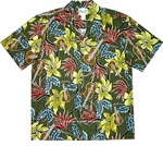 Ukulele Hawaiian Shirt - COTTON