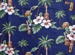 CLOSEOUT Ukulele Hibiscus Men's Shirt