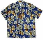 Ukulele Monstera Men's Shirt