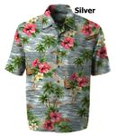 Ukulele Reverie Men's made in Hawaii Cotton Aloha Shirt