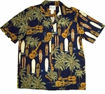 Ukulele Surf Boards Hawaiian Shirt
