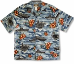 USS Midway Aircraft Carrier Men's Shirt