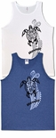Vertical Honu (Turtle) Tattoo Tank Top