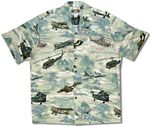 Vietnam War Airplanes Helicopters Men's Shirt
