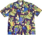 CLOSEOUT Grapes & Wine Bottle Men's Rayon
