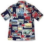 Vintage Woodie Men's Cotton Shirt