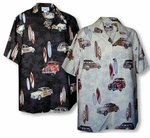 Vintage Woodie Sufboard Men's Shirt
