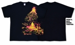 Volcano Hawaiian cotton unisex T-Shirt