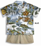 Waikiki Hawaii Boy's 2pc Set