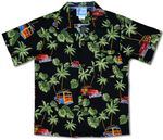 Waikiki Woody Surfboards History Boy's shirt