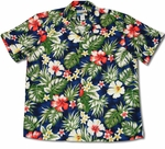 Floral Garden Waimea Casuals Mens Cotton Shirt