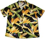 Watercolor Bird of Paradise women's paradise found shirt