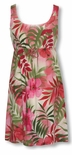 CLOSEOUT Watercolor Tropics empire tie front