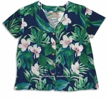White Ginger - Hawaiian Blouse