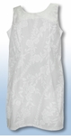 White Rose Vine Short Tank Dress