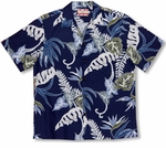 Wild Ferns Men's Vintage Aloha Shirt Medium & 3X only