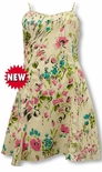 Wild Flower Splash women's empire princess dress