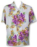 CLOUSEOUT Wild Hibiscus Mens Rayon