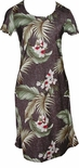 CLOSEOUT Wild Orchid A Line Cap Sleeve Dress