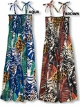 Wild Paradise Jungle Sundress