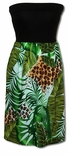 Wild Paradise Jungle knit top tropical print style sundress