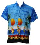 Wind Surfing Men's Terivoile Rayon Shirt