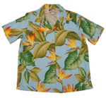 Women's Bird of Paradise aloha shirt