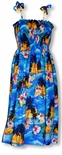 Brilliant Hawaiian Sunset Women's One Size Tube Dress