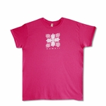 Women's Hawaiian Islands Quilt Cotton Tee-Shirt