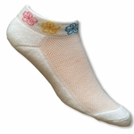 Women's Waikiki Hibiscus Cuff Socks Pack of 2