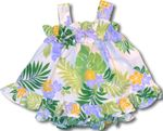 Wonderful Soft Tropics girl's discounted cabana set