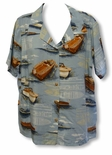 Wooden Boat women's paradise found shirt