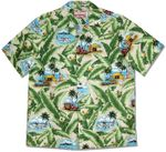 Woodie Seaplane Men's Robert J. Clancey (RJC) 100% Cotton Hawaiian Aloha Shirt - 2X Only