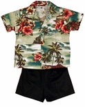 Woodie Surf Boys 2 pc Cabana Set