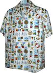 Yachtsman Men's Cotton aloha shirt