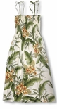 Yellow Plumeria Garden Women's Tube Dress