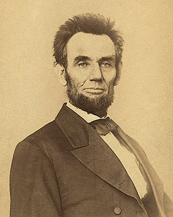 1865 Portrait of Abraham Lincoln  Photo Print