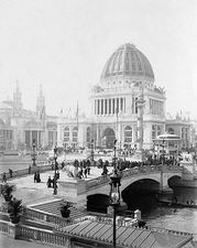 1893 World's Columbian Exposition, Chicago Photo Print