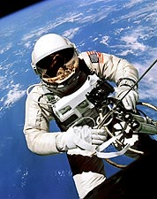 1st American Space Walk Ed White  Photo Print for Sale