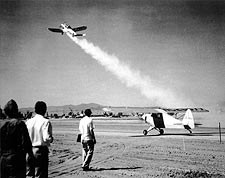 1st Rocket Assisted Airplane Take-Off NASA Photo Print for Sale