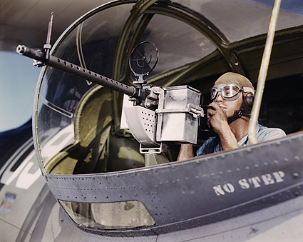 30-Calibre Machine Gun on PBY Catalina Photo Print