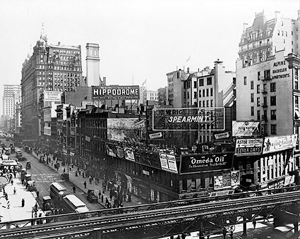 34th Street & 6th Avenue 1910 New York City Photo Print