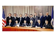 3rd Group of Astronauts / Astronaut Group 3 Photo Print for Sale