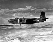 A-20 Havoc in Flight Side View Photo Print