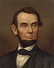 Abraham Lincoln Painting Photo Print for Sale