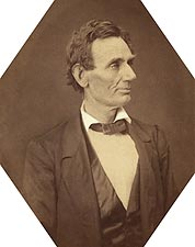 Abraham Lincoln Presidential Candidate Portrait 1860 Photo Print for Sale