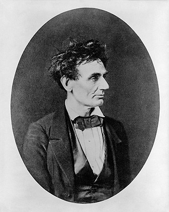 Abraham Lincoln Prior to U.S. Senate Nomination 1850s Photo Print