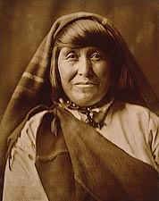 Acoma Indian Edward S. Curtis Portrait 1904 Photo Print for Sale