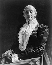 Activist Susan B. Anthony Portrait Photo Print for Sale