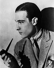 Actor Rudolph Valentino Profile Portrait Photo Print For Sale